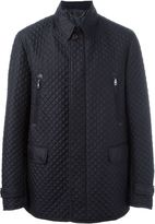 Brioni zipper and flap pockets jacket