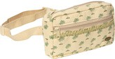 Capelli of New York Palm Print Cotton Fanny Pack