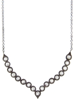 Cathy Waterman Diamond Shield Necklace