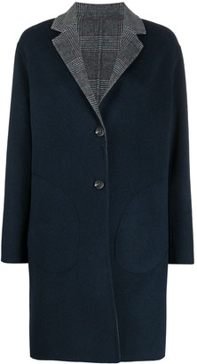 Tommy Hilfiger Reversible Wool-Blend Coat