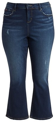 Slink Jeans, Plus Size High-Rise Bootcut Jeans