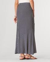 Coldwater Creek Stripe maxi skirt