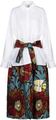 5 PROGRESS 3/4 length dresses