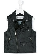 John Galliano biker jacket - kids - Cotton/Polyurethane - 8 yrs