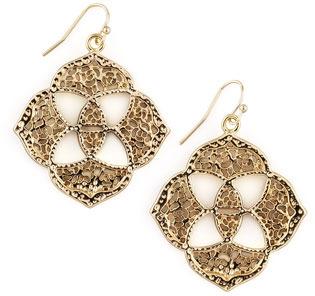 Kendra Scott Dawn Logo Earrings, Gold