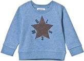 Molo Flourentic Blue Dines Sweatshirt