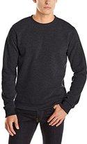 Southpole Men's Active Basic Crew Neck Fleece Pullover Sweatshirt