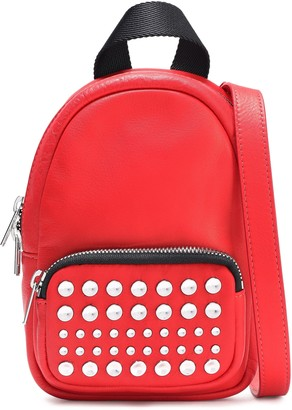 McQ Studded Leather Backpack