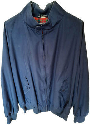 Baracuta Blue Cotton Jackets