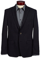 Murano Slim-Fit Dobby Pattern Notch Lapel Blazer