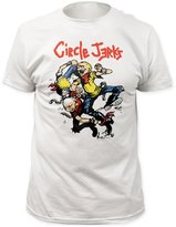 Impact Circle Jerks - Mens Thrashers Fitted T-Shirt