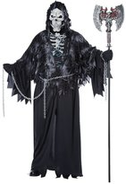 California Costumes Men's Plus-Size Evil Unchained Scary Ghost Demon Skeleton Grim Reaper Plus