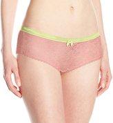 Kensie Women's Lacy Rhea Boyshort Panty