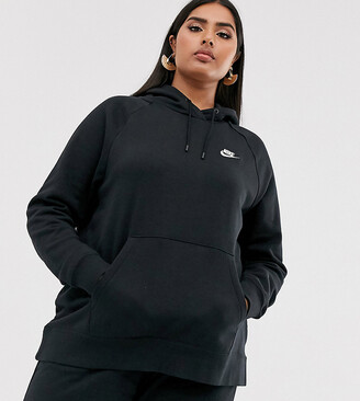 Nike Plus Black Essentials Hoodie