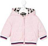 Kenzo reversible tiger hooded jacket