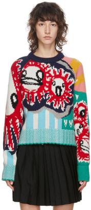 Charles Jeffrey Loverboy Multicolor Guddle Tassle Sweater