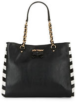 Betsey Johnson Sticky Situation Tote and Patches Set