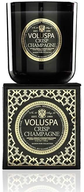 """Voluspa Maison Noir """"Crisp Champagne"""" Classic Boxed Candle"""