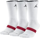 Jordan Crew Socks (Dri-FIT) (3 Pairs)