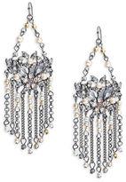 Nanette Lepore Faux Pearl Chandelier Earrings