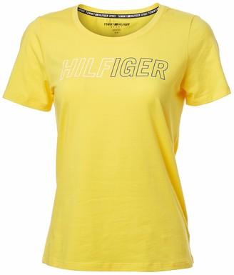 Tommy Hilfiger Women's Short Sleeve Logo T-Shirt