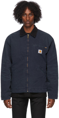 Carhartt Work In Progress Navy OG Detroit Jacket