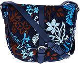 Vera Bradley Signature Print Slim Saddle Bag
