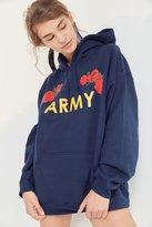 Urban Outfitters Army Roses Hoodie Sweatshirt