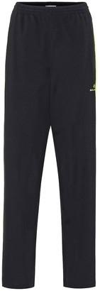Balenciaga Stretch-jersey trackpants