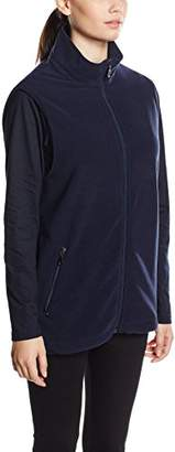 Trigema Women's Fleece Weste Gilet,10 (Size: S)