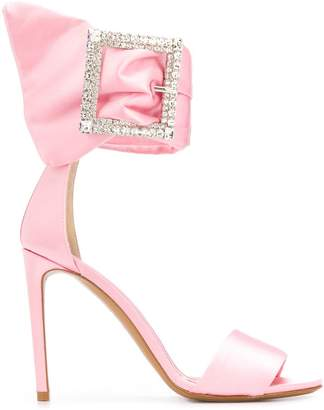 Alexandre Vauthier Yasmin crystal buckle sandals