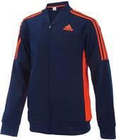adidas Athletic Front-Zip Jacket, Toddler Boys