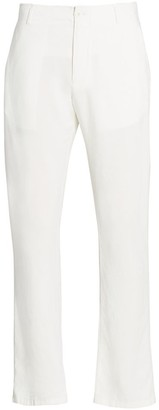 Saks Fifth Avenue COLLECTION Drawstring Linen-Blend Pants