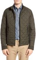 Ben Sherman Men's Quilted Harrington Jacket