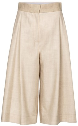 Roksanda Devin high-rise wide-leg wool pants