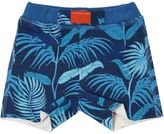 Little Marc Jacobs Jungle Printed Cotton Jersey Shorts
