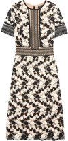 Catherine Deane Gala crocheted lace midi dress