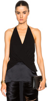 Dion Lee Silk Satin Twist Cami