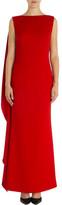Carla Zampatti Flame Crepe Harlow Gown