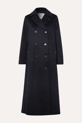 MACKINTOSH Montrose Belted Cashmere Trench Coat - Navy