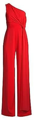 Jay Godfrey Women's Paola One-Shoulder Jumpsuit - Size 0