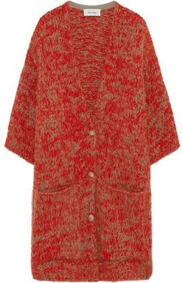 American Vintage Boolder Red Cardigan - One Size