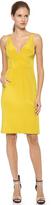 J. Mendel V Neck Sleeveless Dress