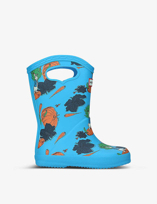 Hunter Peter Rabbit synthetic pull-on handle wellington boots
