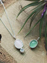 Iris Water Lily Necklace
