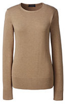 Lands' End Women's Plus Size Supima Sweater-Cherry Jam