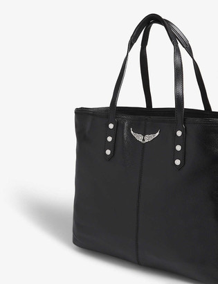Zadig & Voltaire Mick leather tote bag