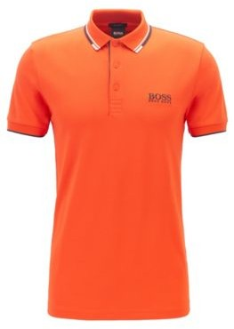 BOSS Regular fit pique polo shirt with quick-dry technology