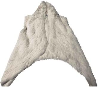 Yves Salomon White Rabbit Jacket for Women