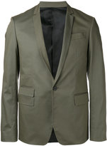 Les Hommes stitched detail blazer